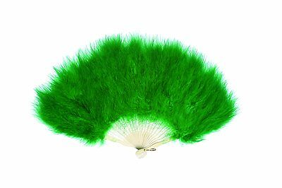 Zucker Feather Products Large Marabou Feather Fan, Yellow/gold