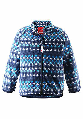 Reima Fleece Jacke Vemmel in sturmblau