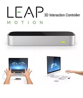 Hot Gift Leap Motion Controller Mac & PC Real 3D interaction with Packaging