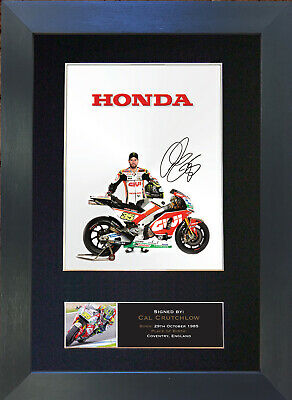CAL CRUTCHLOW Signed Reproduction Autograph Mounted Photo A4 Print 628