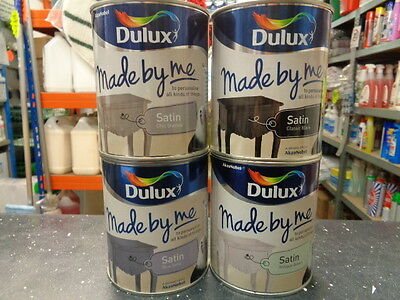 Dulux Made By Me Satin Multiple Colours 750Ml
