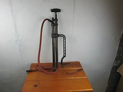 Pump F. E. MYERS & BRO. ASHLAND, O. 1895 BRASS HAND WATER Pump, Salvage,Great