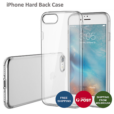 For iPhone 7 & 7 Plus Crystal Clear Transparent Hard Case Cover Protector
