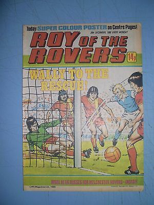 Roy of the Rovers issue dated December 20 1980