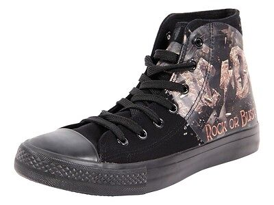 Chaussures original AC / DC - Rock Or Bust - Noire – F.B.I.. Basquettes basket