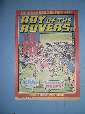 Roy of the Rovers issue dated April 18 1981