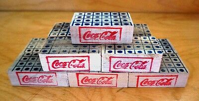 Lincoln Toys Coca - Cola Replacement Mini Wood Crates for Pressed Steel Trucks