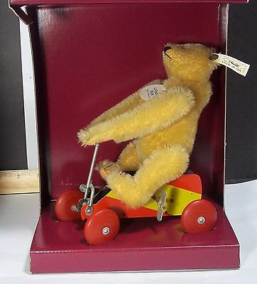 Steiff Museum Collection UR-Teddy #400919 Replica 1926 LED