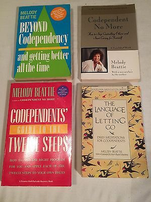 Lot 4 MELODY BEATTIE Codependent No More BEYOND Language Letting Go TWELVE STEPS