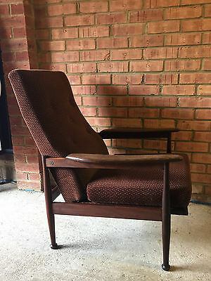 Mid 20th C Guy Rogers Manhattan Armchair Recliner