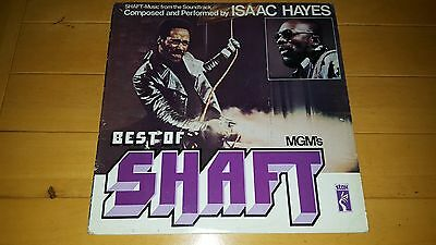 Issac Hayes - The Best Of Shaft 1981 UK LP