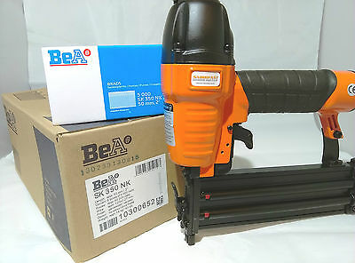 FREE TOOL WITH 18 GAUGE 50MM BRADS BY BeA x 1 CARTON (40,000 BRADS)