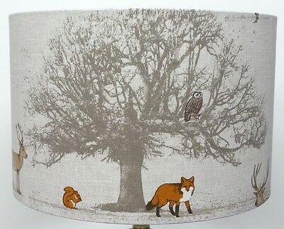 Fryetts Woodland TREE, STAG and Fox Lampshade ,  Table Lamp ,  Pendant Shade