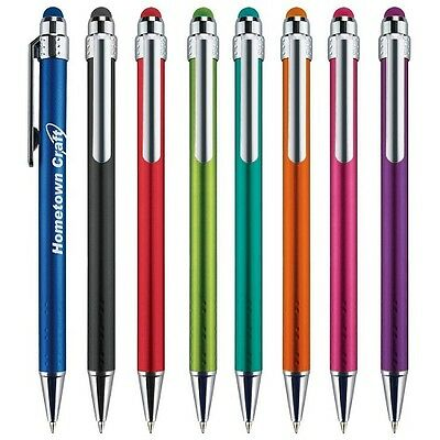 250 Custom Lavon Stylus Click Pen Printed with Your Company Name /Logo / Message