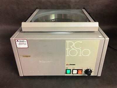 Jouan RC10-10 Heated Centrifuge w/ Rotor    RC1010