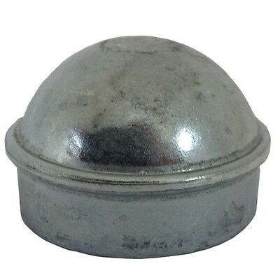 ALEKO 1 Round Post Cap 1-3/8 Inches Post Cap For Chain Link Post
