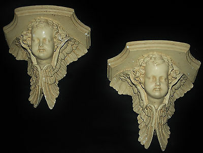 Angel Sconce Plaster Shelf