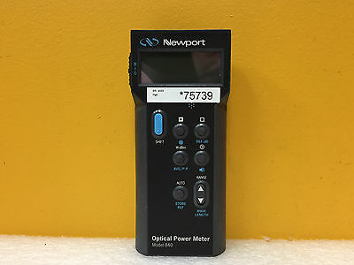 Newport 840-C, 100 pW to 2 W, -70 to +33 dBm, Handheld Optical Power Meter