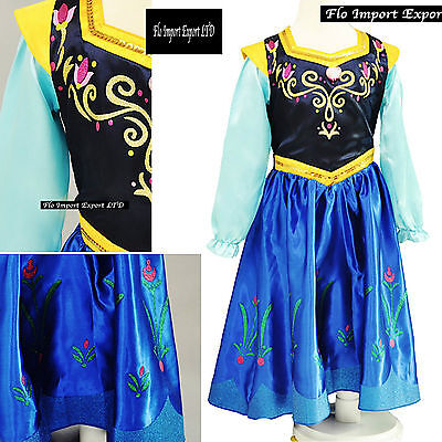 Frozen Vestito Carnevale Anna 2-8 anni - Dress up Anna Cosplay Costume 789046