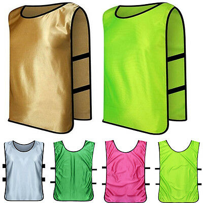 Breathable  Football TrainingScrimmage  Bib Vest for Adults and Children