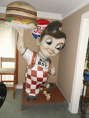 "Original Bob's Big Boy 7 Foot Tall ""great Americana"""