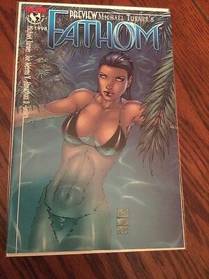 Fathom 1998 Preview Michael Turner Very Nice !!!!!