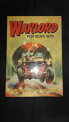 Warlord For Boys 1979 Vintage Action/Adventure Annual
