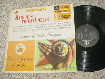 AUDIO FIDELITY AF fcs 50008 marches from operas Winograd  lp record see add