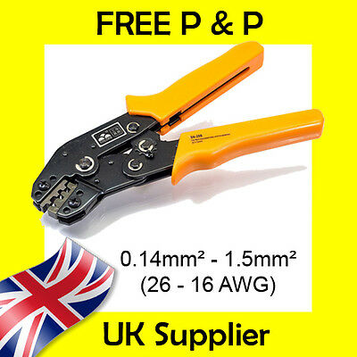 0.14-1.5mm2 Tyco Econoseal, Superseal Dupont Amp Terminal Cable Crimp Tool