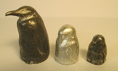 "Three thimble collection ""Penguins"""