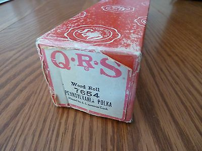 Vintage QRS Pianola Roll - PENNSYLVANIA POLKA by Andrews Sisters