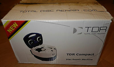 TDR Compact Disc Cleaner - Repair Your Scratched Discs Xbox 360 PS3 CDs DVDs