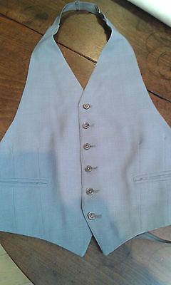 Vintage Moss Bros formal adjustable  waistcoat chest 38""