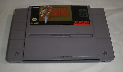 The Legend of Zelda: A Link to the Past SNES