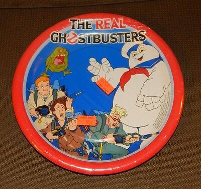 1984 The Real Ghostbusters Party Plates MINT IN PACKAGE FREE SHIPPING