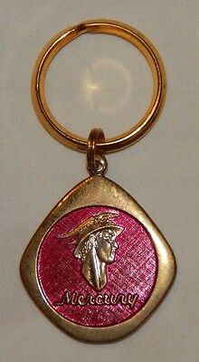 Old Mercury Automobile advertising keychain NEW OLD STOCK MINT FREE SHIPPING