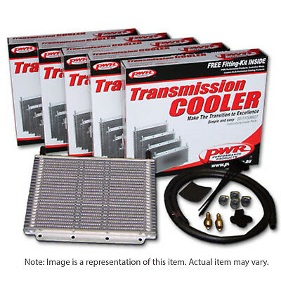 PWR PWO5389FD Trans Oil Cooler kit - Ford Falcon AU / BA 280 x 255 x 19mm 3/8' b