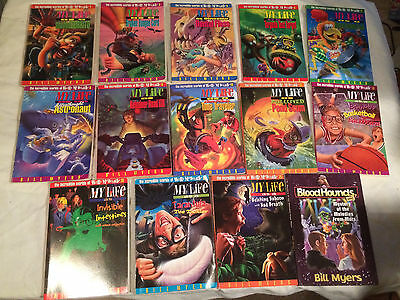 BILL MYERS lot of 14 MY LIFE AS Wally McDoogle BLOODHOUNDS Toe Tickler ROAD KILL