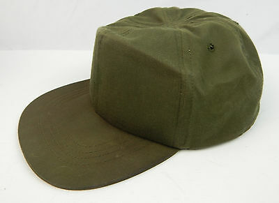 Vintage 1979 U.S. Army Green OG-106 Hot Weather Cap Hat Size 7-1/2 Fitted