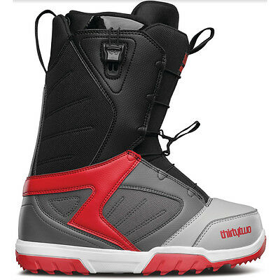 32 Groomer FT Snowboard Boots Mens 2017 Grey Black Red 7 8 9.5 10 10.5 11 12