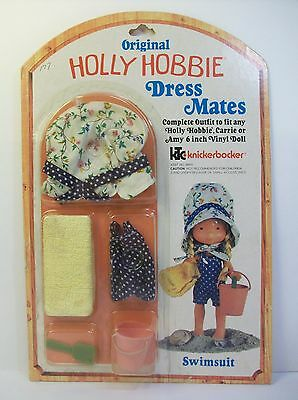 Holly Hobbie Dress Mates Swimsuit Outfit Knickerbocker American Greetings 9869