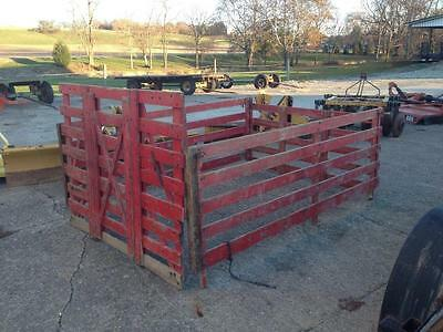 Pick-up Truck Bed Cattle Racks Hog Poultry Sheep Goat Hauling Stockyard