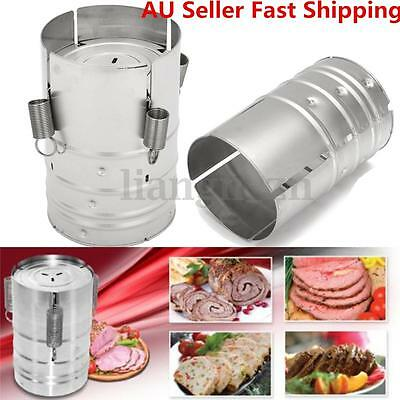 Stainless Steel Press Ham Maker Meat Cooker Poultry Seafood Homemade Specialties