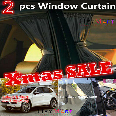 2xps Universal Car Sun Shade Side Window Curtain Foldable Sunshade UV Protection