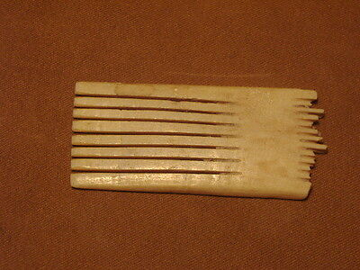 Ancient  Bone Comb Roman C.200 BC