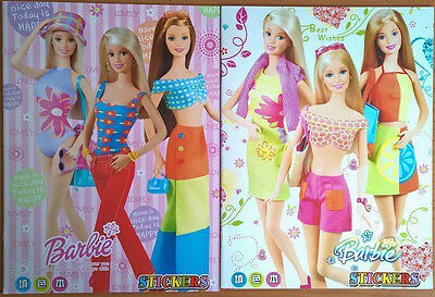 1 x Barbie Coloring Book 16 Pages with 2 Pages Stickers Gift for Kids