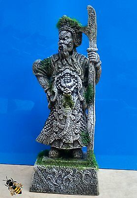 Aquarium Ornament Thai Warrior Plant Decoration Fish Bowl Tank Goldfish New • EUR 14,26