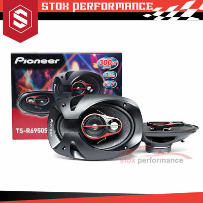 "NEW Pioneer TS-R6950S 6""x 9"" 3-Way 300W Coaxial Car Speakers"
