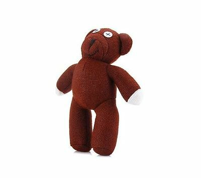 "Mr Bean Teddy 9""  NEW soft toy UK SELLER plush childrens kids beanie ty cute tv"