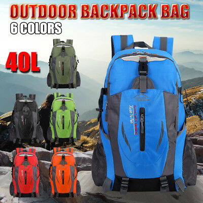 Large 80L Waterproof Backpack Rucksack Bag Luggage Camping Outdoor Hiking Travel
